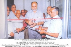Inauguration of Room no. 103 of Force Standard Annexe (The official space allotted to NPL-FSF)  by Prof. Vikram Kumar the then Director CSIR-NPL on 14-06-2007