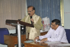 President Dr R G Sharma  Welcoming the FSF Members and  participants