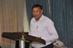 Secretary  NPL-FSF, Mr R B Saxena  addressing the audience