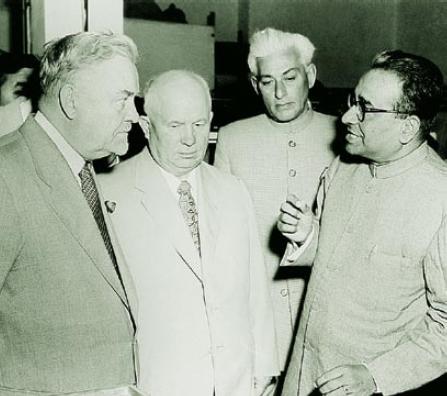 Bulganin Prime Minister Of Soviet Union