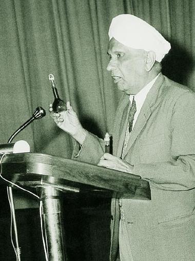 Dr C V Raman