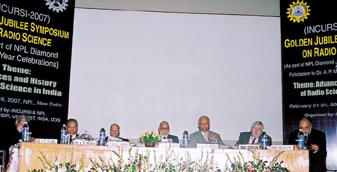 Inauguration of 18 AGM Of materials research society