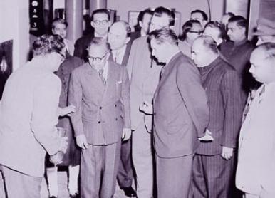 V Siroky Prime Minister Of Czechoslovakia